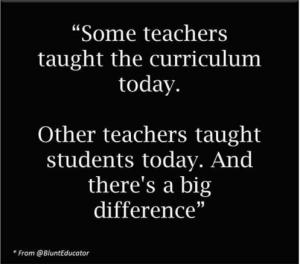 students curriculum